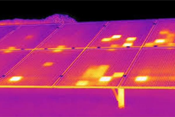 defect solar pannel