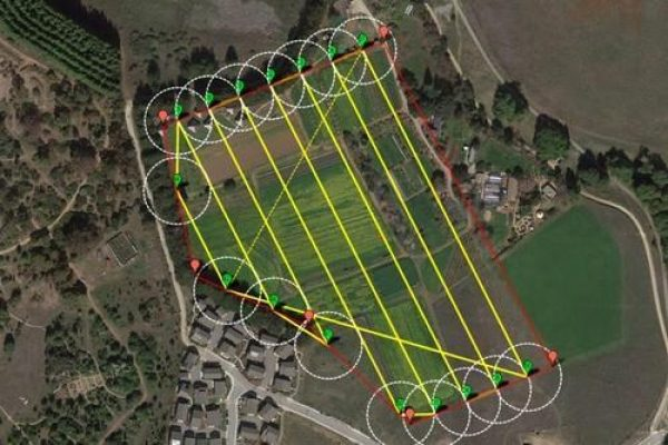 land surveying drone