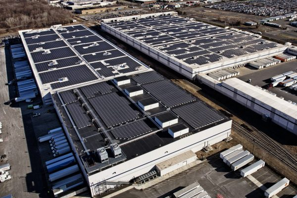 solar roof warehouse